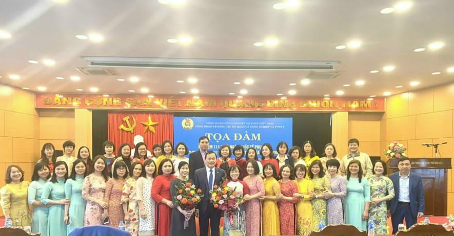 Tọa đàm kỷ niệm 111 năm ngày quốc tế phụ nữ