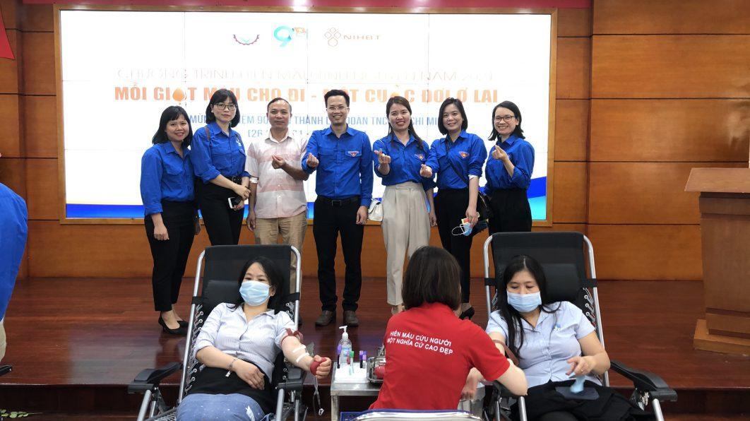 Chương trình hiến máu tình nguyện năm 2021